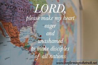 Eager and unashamed of the Gospel