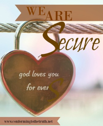 Will you praise God with us as we study inductively through Romans and learn that we are secure in God's Love!