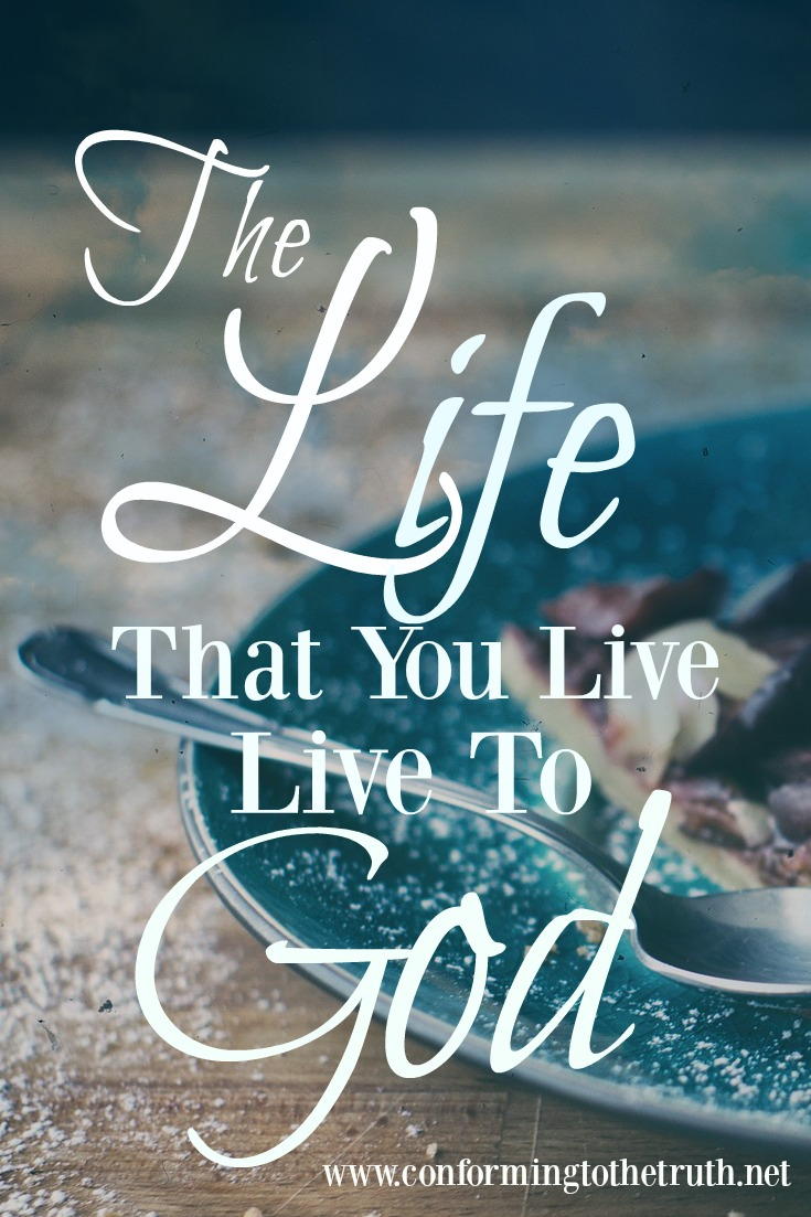 Do you ever question how you are living your life? Are you a slave to God or a slave to sin?