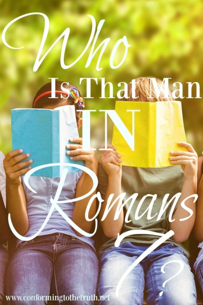 Have you ever wondered who that man could be that Paul describes in Romans 7? Join CTTT as we do a Bible Study in Romans. Free workbook available for you!
