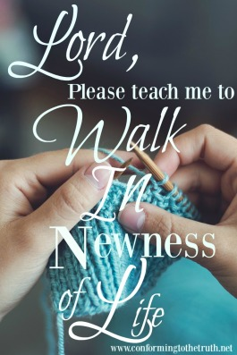 The believer has been set free from the bondage of the law. now lets walk in newness of life!