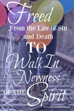Believers are no longer bound to Law. We have been joined to christ! We can now walk in newness of life. Join CTTT in our Bible Study in Romans.