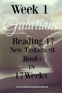 Would you join us in Reading 17 New Testament books? We are putting the truth of the Bible in our hearts and minds!