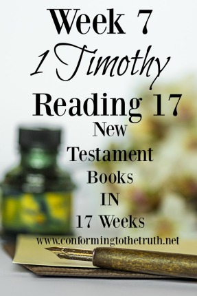 Do you know what the instructions to the church are? Do you know the qualifications and function of the elder? Join Conforming To The Truth as we explore the book of 1 Timothy to learn the answers to these questions and more.