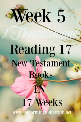 Finding encouragement when you do not know you need it! We are reading through the book f 1 Thessalonians learning how to live under suffering. We would love for you to join in with us!