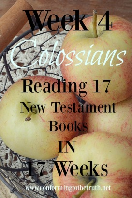 Are you being led astray by the deception of the world and traditions of man? Read the book of Colossians with us and learn how as a believer to not be led astray.