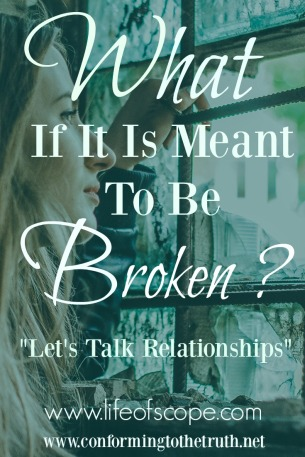 It is so easy to slip into fix it mode. But what if it is meant to be broken?