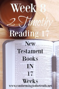 Difficult days are upon us. Men are progressing for bad to worse. Will you join us in a Bible Study in 2 Timothy to learn what the scriptures teach us to look for and how we can stand in these difficult times?