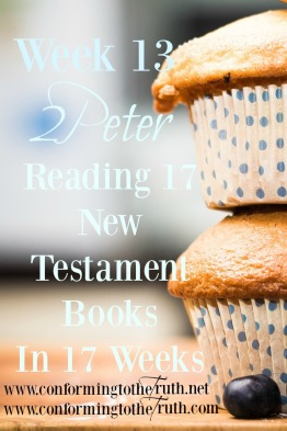 In this Bible Study in 2 Peter, Pete is diligent to remind the believer to make sure of his calling and choosing you. Join us as we read through the book of 2 Peter.